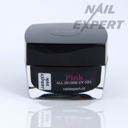 PINK jednofázový UV gél 40ml