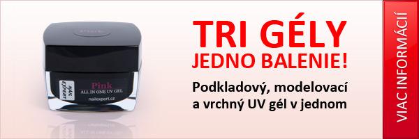 Jednofázový UV gél s perfektnou priľnavosťou a vysokým leskom